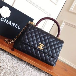 $300 chanel coco handle bag